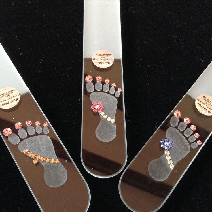 Lima para u as de pies con cristales swarovski elements for Cristales swarovski para decorar unas