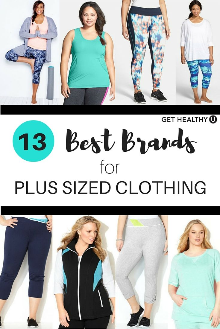 Sweat in style! These are the 13 best brands for plus-workout clothing and…