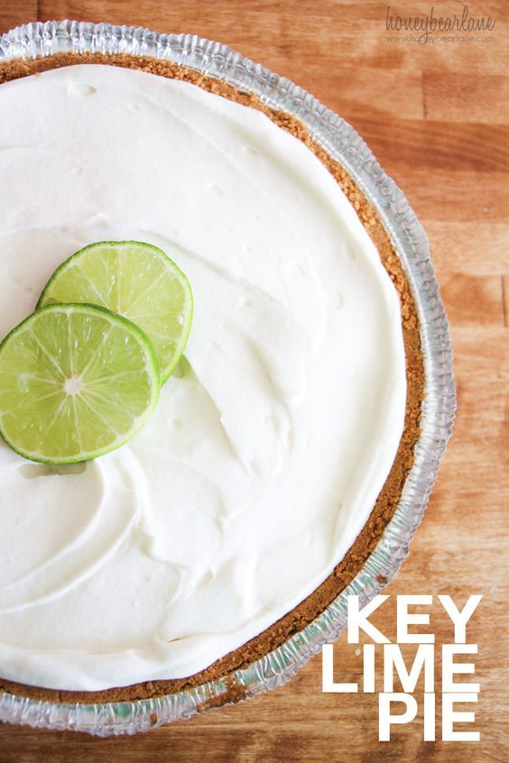 Key Lime Pie recipe - super easy and great for having guests over!
