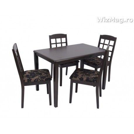 Masa bucatarie WIZ cu scaune mbs-4