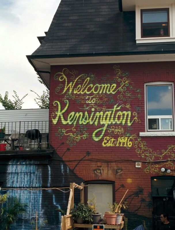 Kensington Market in Toronto, ON