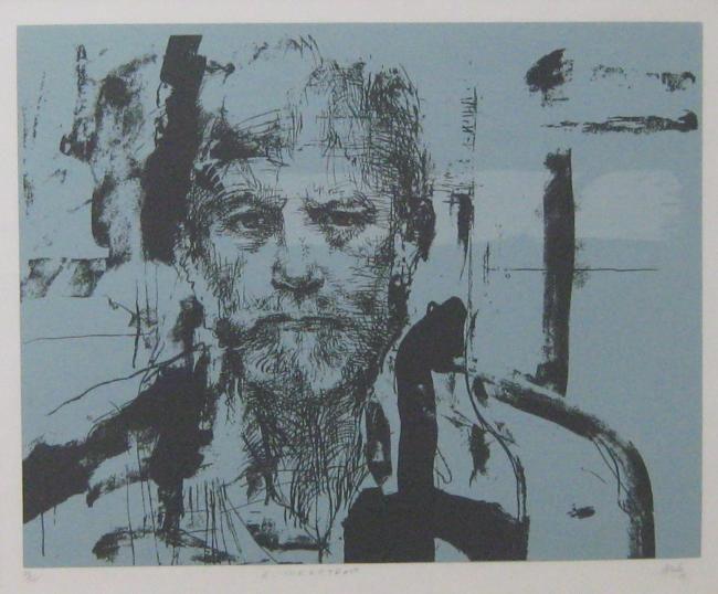 Aotoretrato, Juan Antonio Roda - Drawing,  70x50 cm ©2009 by Is Alive -  Drawing