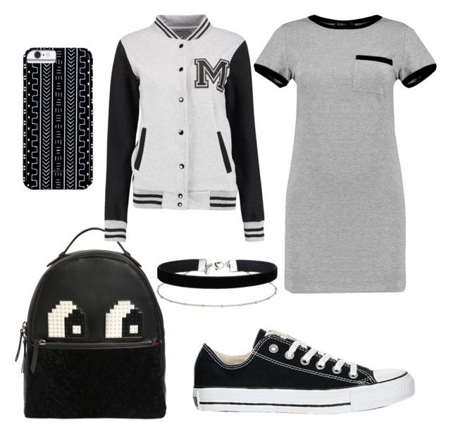 """""""Untitled #2"""" by ralucapopa-1 on Polyvore featuring MARA, Converse, Les Petits Joueurs, Miss Selfridge and Savannah Hayes"""