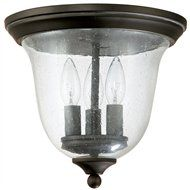 South Shore Decorating: Capital Lighting 9541OB Transitional Outdoor Flush Mount Ceiling Light CP-9541OB