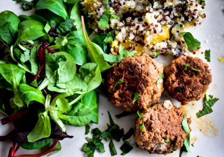#healthyrecipes #healthydinner #turkeymeatballs #moroccanmeatballs #healthymeal