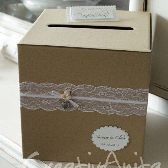 Briefkasten – Geschenkbox – Natur Vintage Hochzeit