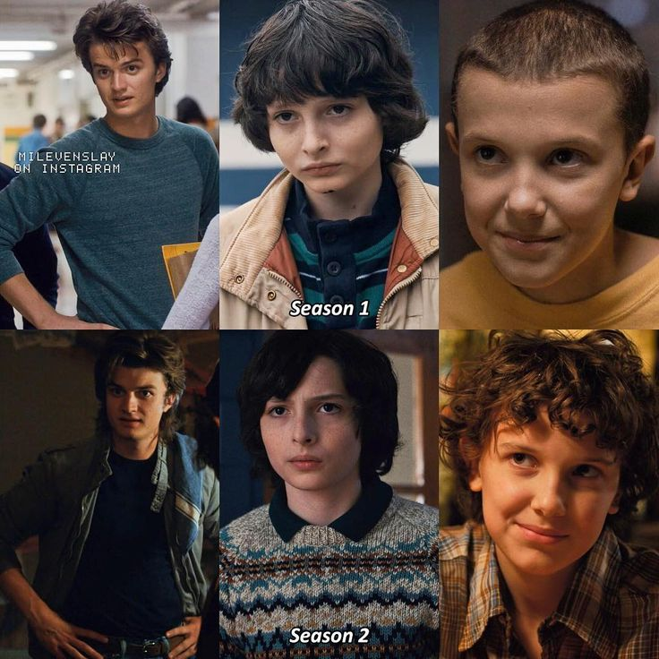 "11.5k Likes, 181 Comments - Stranger Things (@milevenslay) on Instagram: ""A bunch of my faves throughout the seasons — What character made the biggest development in…"""
