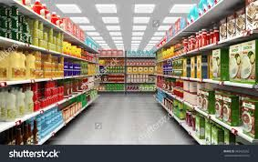 Image result for shelf full of products