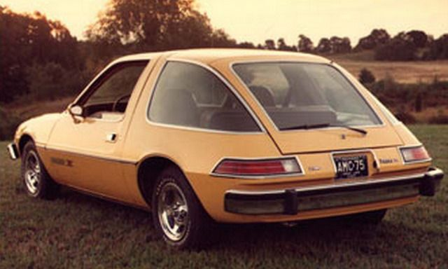 yep, an AMC Pacer, and we owned one. It actually was a pretty good car, plenty of visibility and room.