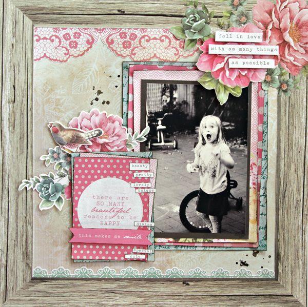 Kaisercraft 'Oh So Lovely' by Amanda