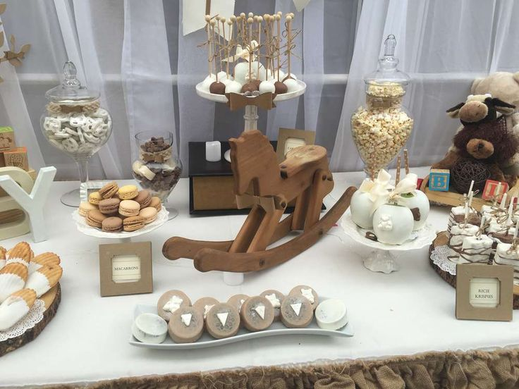Rustic And Vintage Baby Shower Party Ideas