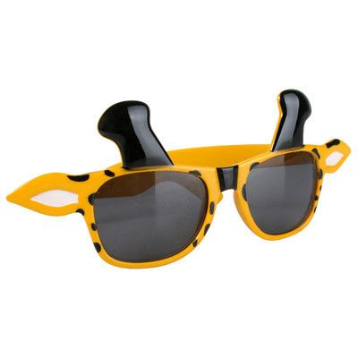 Let's Party With Balloons - Yellow Giraffe Glasses, $8.50 (http://www.letspartywithballoons.com.au/yellow-giraffe-glasses/)