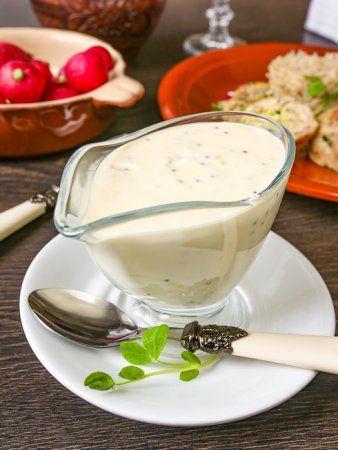 Сырный соус с горчицей