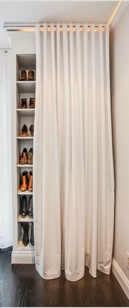 You love wearing your Clarks boots with all of your favorite fall looks, so why not store them in style? This shoe closet organization idea is a great way to display your shoe collection in even the smallest of spaces.
