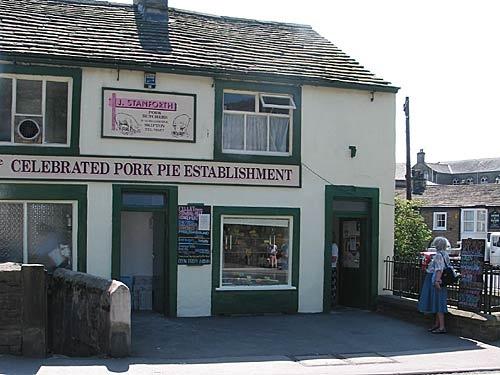 Stanforth's Celebrated Pork Pie Establishment, Skipton, Yorkshire, UK.... YUM!!!