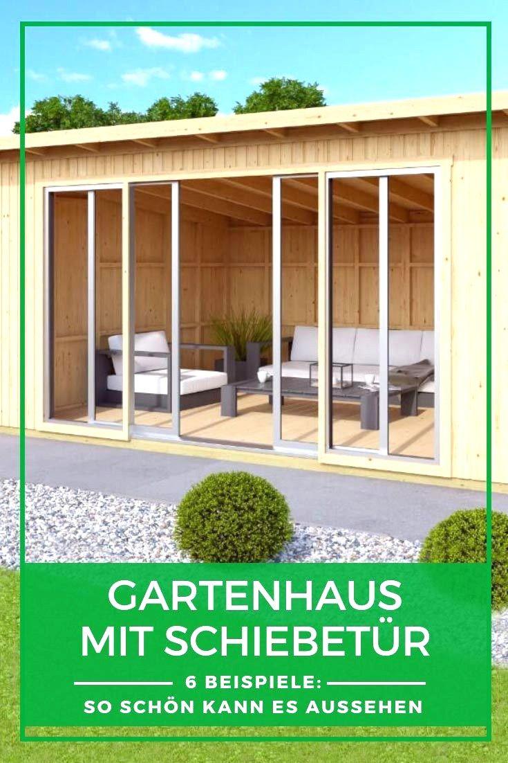 Gartenhaus Mit Schiebetur Gartenhaus Gartenhaus Mit Terrasse