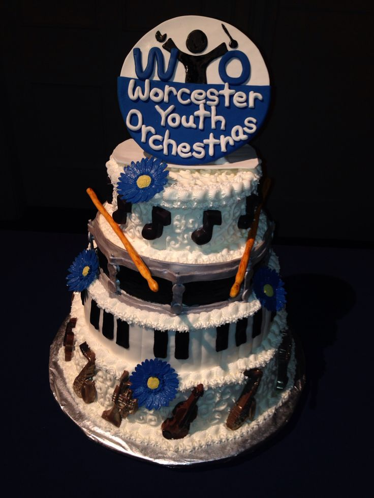 wedding cakes worcester south africa worcester youth orchestra 67th year gala event cake made 26148