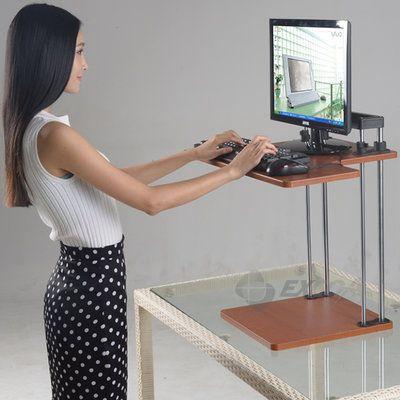 G마켓 - 스탠딩데스크 v3.0-입식 모니터 선반/높이 조절 책상