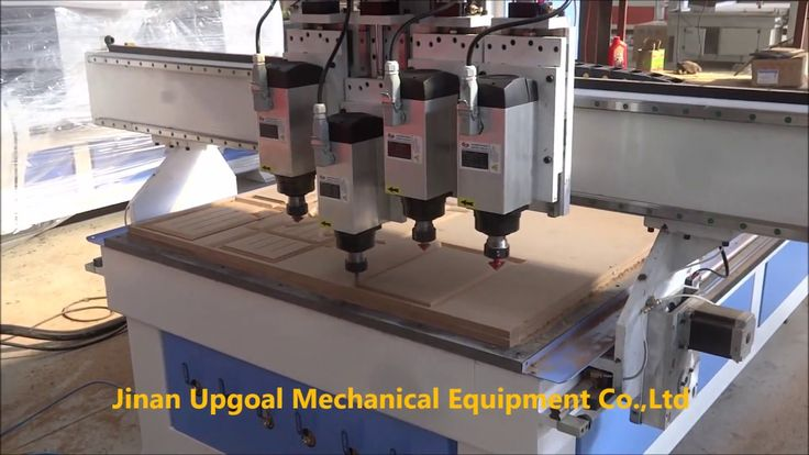 Economic 4 Spindles Changing Auto Tool Changing CNC Wood Carving Machine