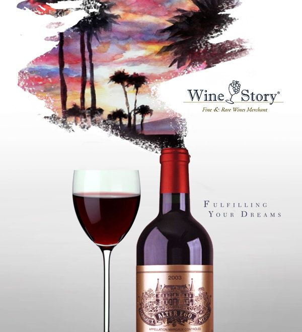 Wine Story (Print Ad) on Behance
