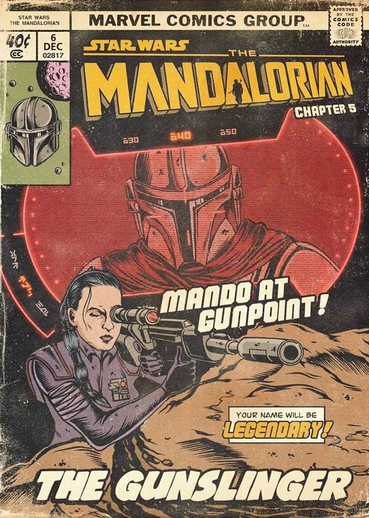 Russian artist sums up each episode of the mandalorian in