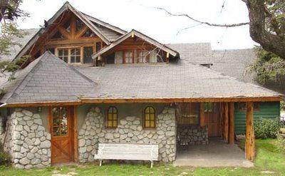 Casas r sticas de madera y piedra para m s informaci n for Fachadas de cabanas rusticas