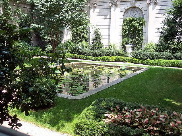 russell page / the frick museum garden, nyc