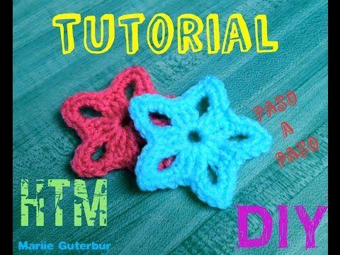 Estrellas de Navidad tejidas a crochet (amigurumi Christmas stars) - YouTube