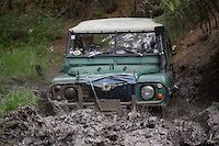 Land Rover taking the Hard Way