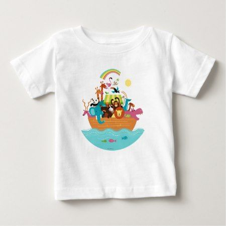 Noah's Ark Baby T-Shirt - click/tap to personalize and buy