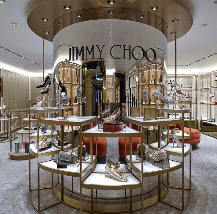 Jimmy Choo at Harrods London by Christian Lahoude Studio