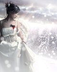 The Snow Angel by ~MoOnshine90