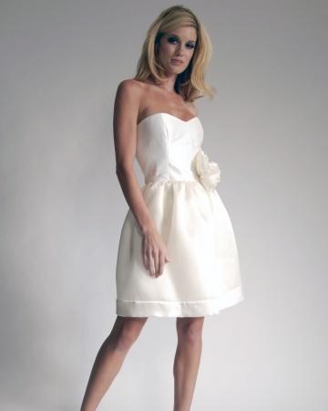 Elizabeth St. John wedding dress