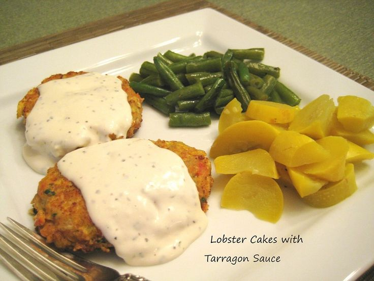 I've made crab cakes, tuna cakes, salmon cakes and fish cakes over the years. Tonight I decided to thaw two small lobster tails and try my hand at a delicate lobster cake. Turned out to be a real...