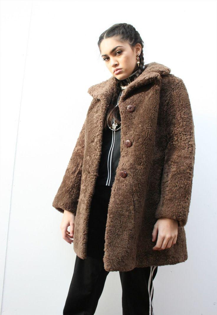 Vintage teddy bear fur coat   The Vintage Dig   ASOS Marketplace