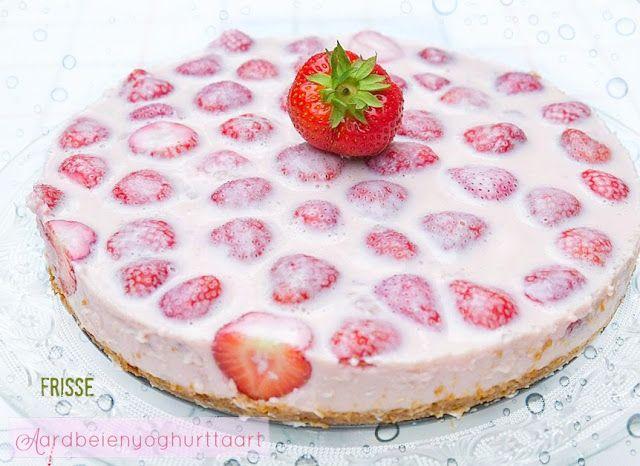 ElsaRblog: Frisse aardbeienyoghurttaart (Recept uit Portugal)...