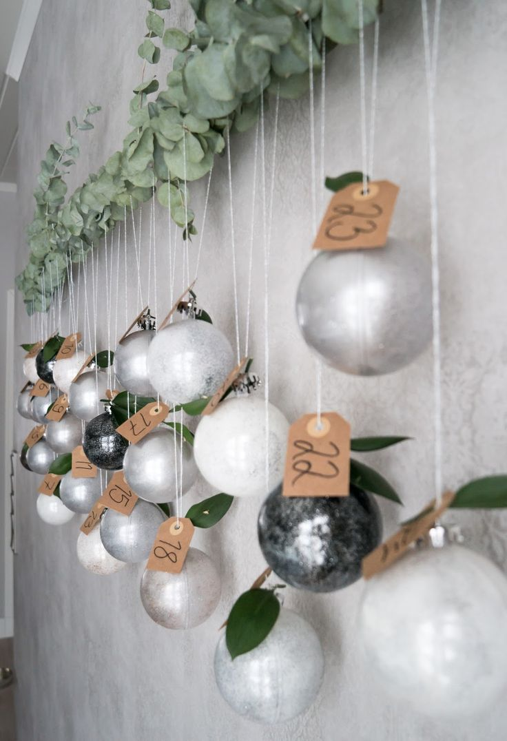 Interior by Jutta K.N: DIY - Joulukalenteri
