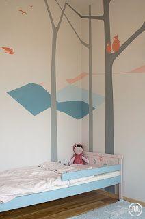 Využití Jílovek na zdi i dřevěnné postýlce ~ Blog MLÉKOVKY