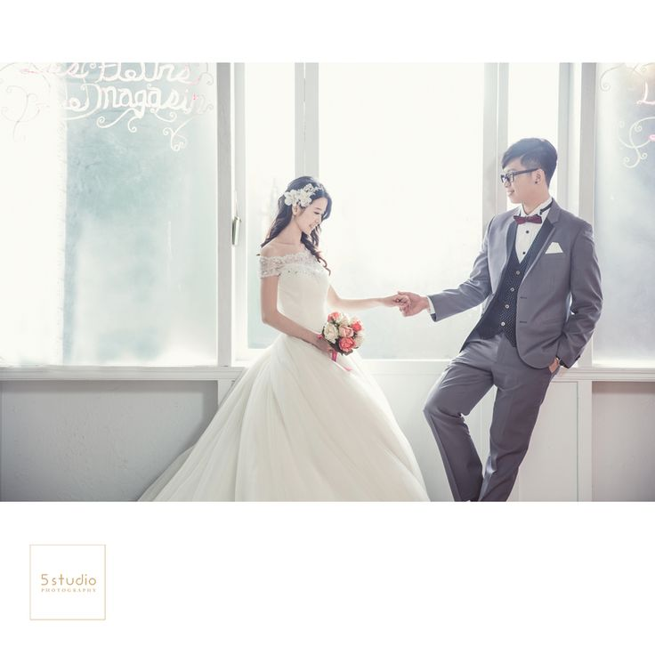 獨家攝影棚 5studio 婚紗作品 - WeddingDay 我的婚禮我作主