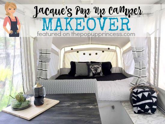 Jacque's Pop Up Camper Makeover - The Pop Up Princess
