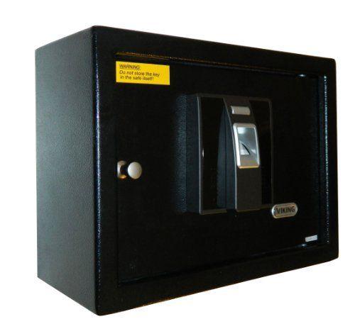 viking security safe vs 82bm biometric fingerprint wall on wall safe id=40555