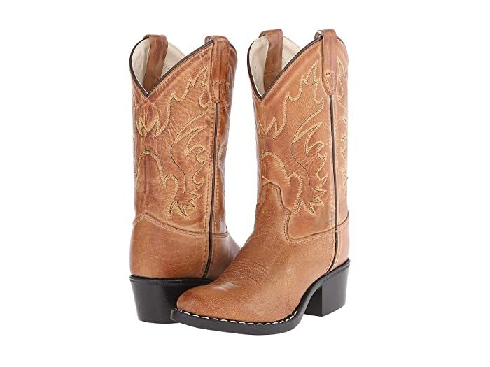 Old West Kids Boots J Toe Western Boot Toddler Little Kid Tan Canyon Cowboy Boots Step Up Your Style With The Classic In 2020 Kids Cowboy Boots Boots Western Boots