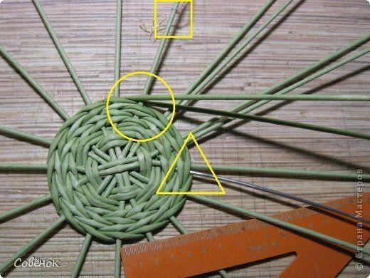 Мастер-класс Плетение МК - Шкатулка из бумаги Бумага газетная Трубочки бумажные фото 10