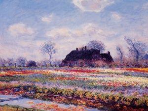 Αγρος Με Τουλιπες, Κλωντ Μονέ | Καμβάς, αφίσα, κορνίζα, λαδοτυπία, πίνακες ζωγραφικής | Artivity.gr