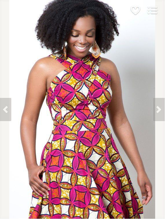 f809df6fd5298 ALeapOfStyle-The-Rules-of-Engagement-A-line-Dress-185-Etsy Modern Kitenge  Dresses-18 New African Kitenge Designs 2018