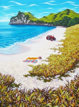 Commission Work | New Zealand Artist Rachel Olsen