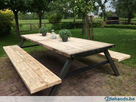 EXCLUSIEVE XXL design picknicktafel 399 euro