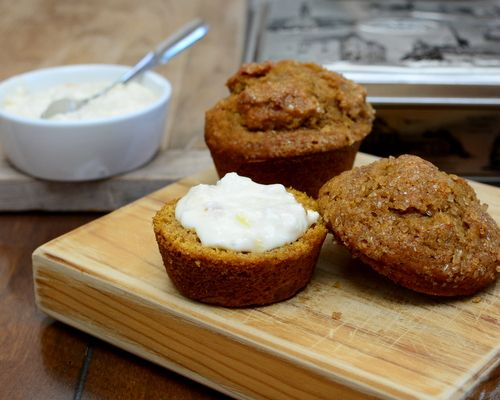 Pumpkin Bread Muffins ♥ KitchenParade.com, moist, flavorful and adaptable, my…
