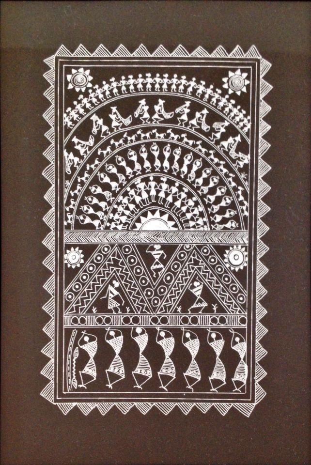Warli art by Priyanka