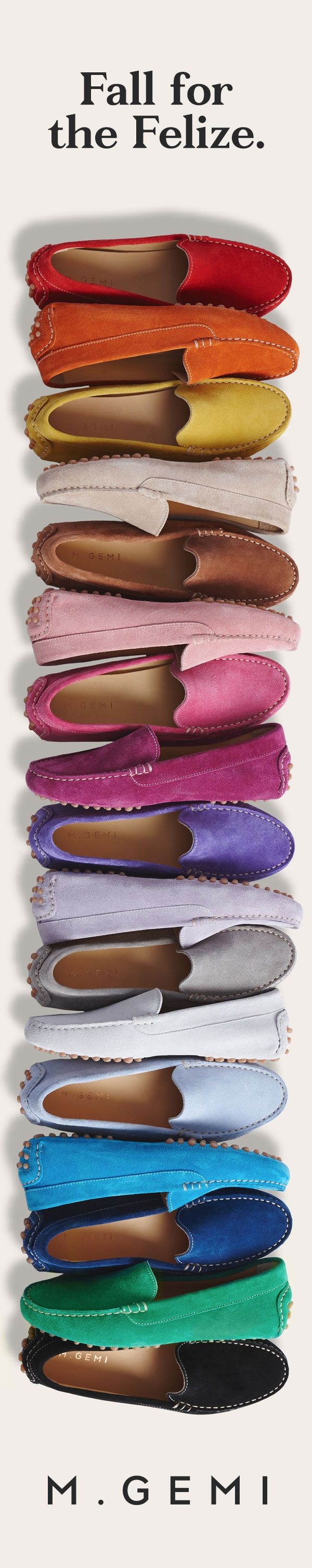 Our clients' favorite shoe, now back in grey, latte, rose, navy, capri & mocha.. Free shipping, free returns. Non c'è problema.